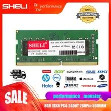 SHELI 8GB 1Rx8 PC4-2400T DDR4 2400MHz 260Pin SODIMM Laptop Notebook Memory RAM