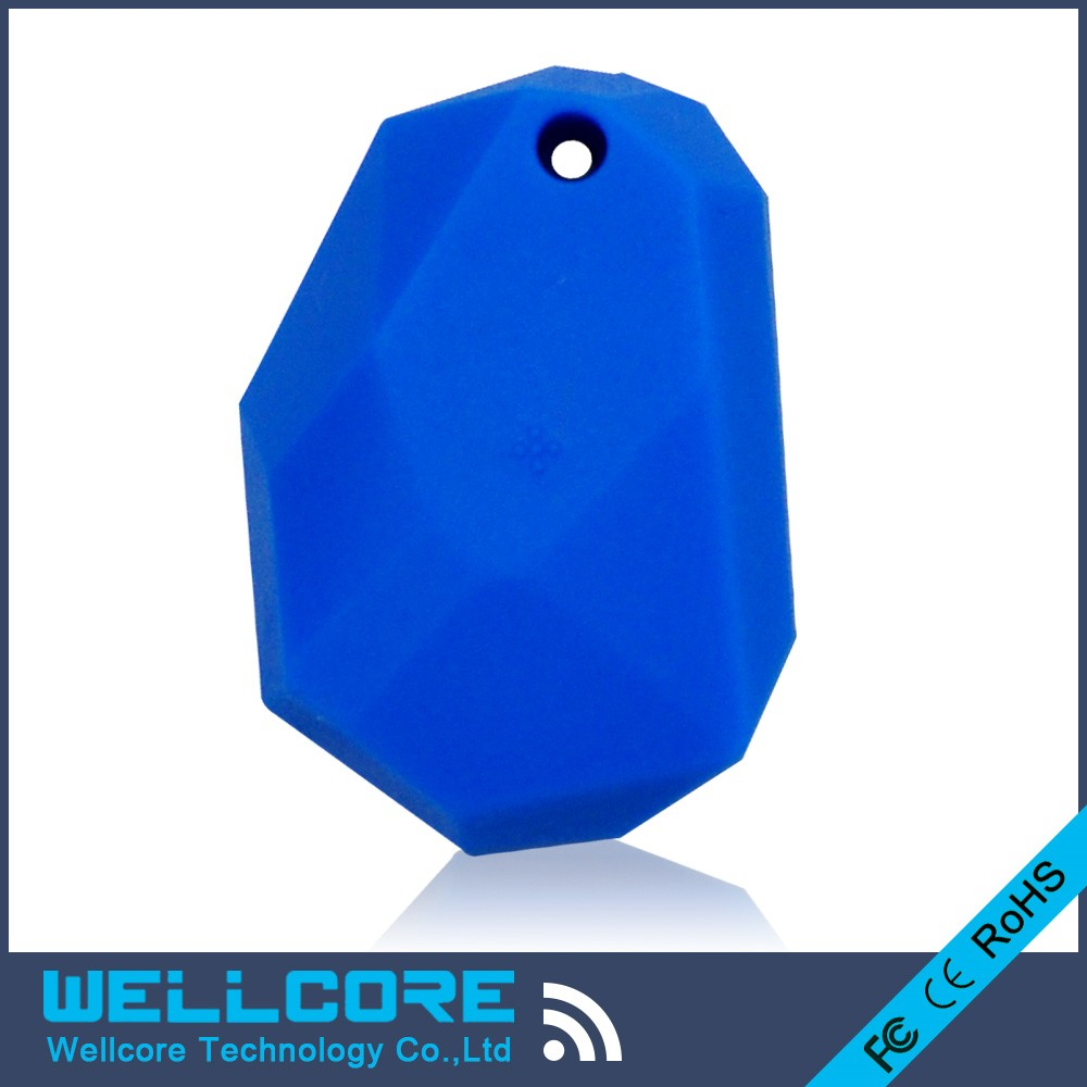 freeshipping 2pcs/lot Blue silicone ibeacon NRF51822 ibeacon support beacon eddy