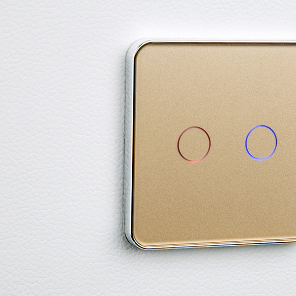 Image 4 - Jiubei White Crystal Glass Switch Panel,touch switch, EU Standard, 2 Gang 1 Way Switch, switch touch, C702 11/12/13-in Switches from Lights & Lighting