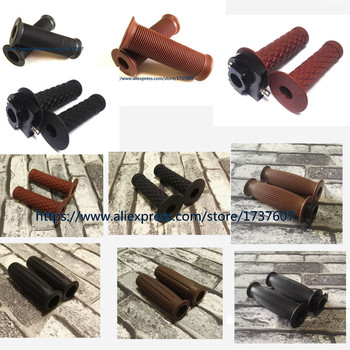 1pair Vintage motorcycle  7/8 22MM Motorcycle handlebar grip handle bar Motorbike grips/Motorcycle accessories