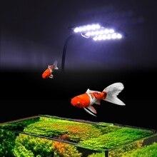 15W Fish Tank Double Lamp EU Plug Aquarium Plant Light High Bright Energy Saving %328/38