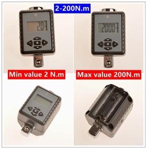 """Image 4 - MXITA ดิจิตอลแรงบิดประแจ 1/2 """"2 200Nm ปรับมืออาชีพแรงบิดประแจจักรยานซ่อมรถยนต์"""