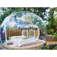 Пузырь надувная палатка дом, открытый прозрачный надувной воздушный купол палатки, Открытый Путешествия Легкий палатки, надувные палатка