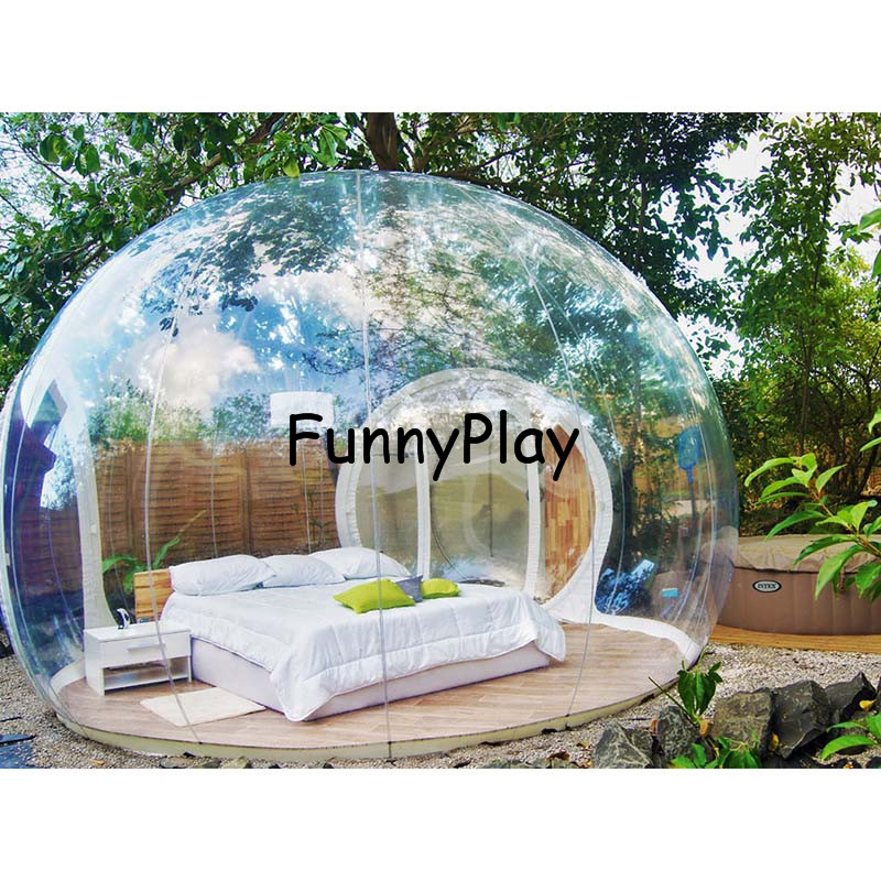 Inflatable bubble tent house outdoor clear inflatable air Tent a house