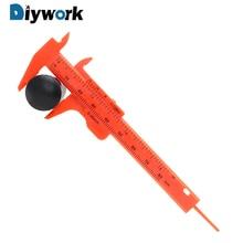 Caliper-Measuring-Tool Ruler Sliding-Vernier Plastic-Gauge DIYWORK 180mm Mini