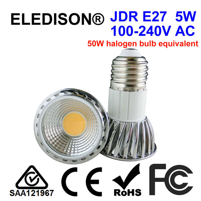 Not Dimmable Jdr E27 Led Spot Light 5w Replacement Bulb For Kitchen Range Hood Hoods