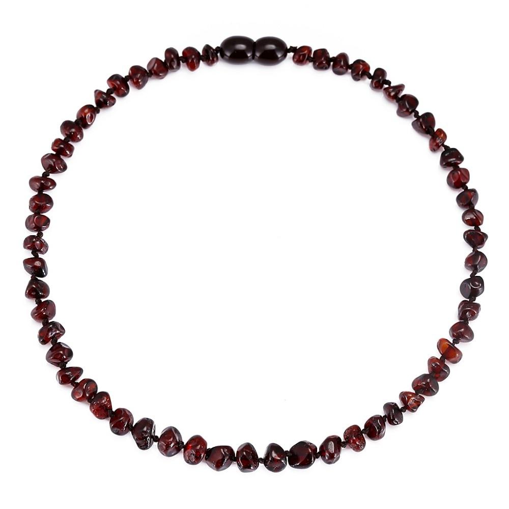 Naszyjnik z bursztynem bałtyckim / bransoletka dla dziecka - prosty - Wykwintna biżuteria - Zdjęcie 2