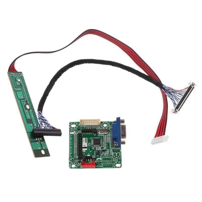 """Sürücü panosu MT561-B Evrensel LVDS LCD monitör ekranı 5V 10-42 """"Dizüstü Bilgisayar DIY parça kiti"""