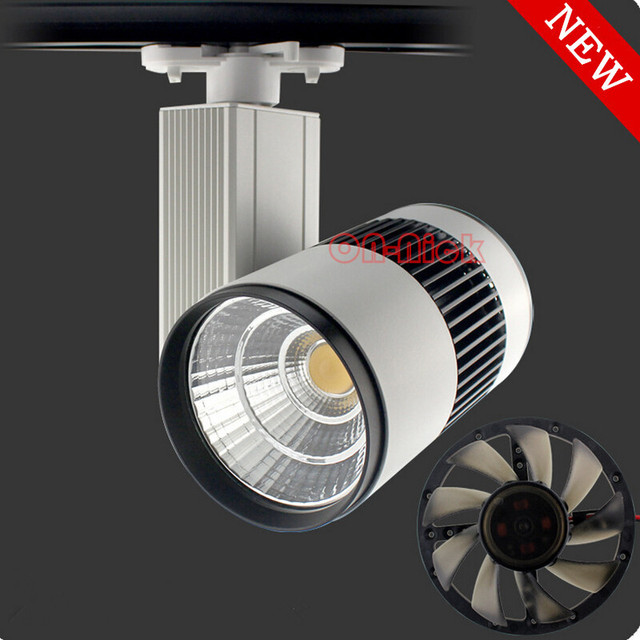 40w 50w led track light cob adopt independent fan cooling system 40w 50w led track light cob adopt independent fan cooling systemconstant current output aloadofball Image collections