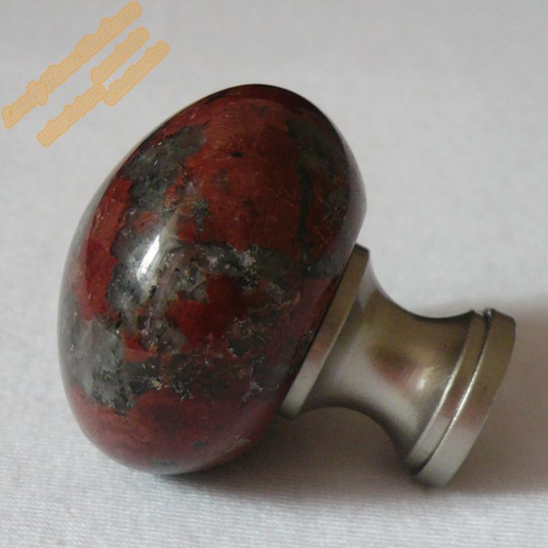 32mm Unique Mushroom Knob,Granite Cupboard Door Knobs Round Kitchen ...