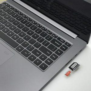 "Image 4 - BaseQi mi cro adapter do kart SD 850A pendrive pro duo Stealth Ninja dysk dla Xiao mi mi Notebook Pro 15.6 ""karty czytnik usb sd"