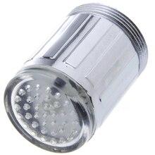 7 цветов, меняющий свет, светодиодный светильник, кран, креативный кухонный светодиодный светильник, водопроводный кран для ванной, кухни