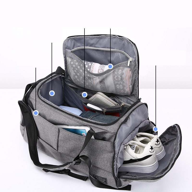 Multifunction Fitness Bag - Gym & Travel Anti-Theft Backpack 2