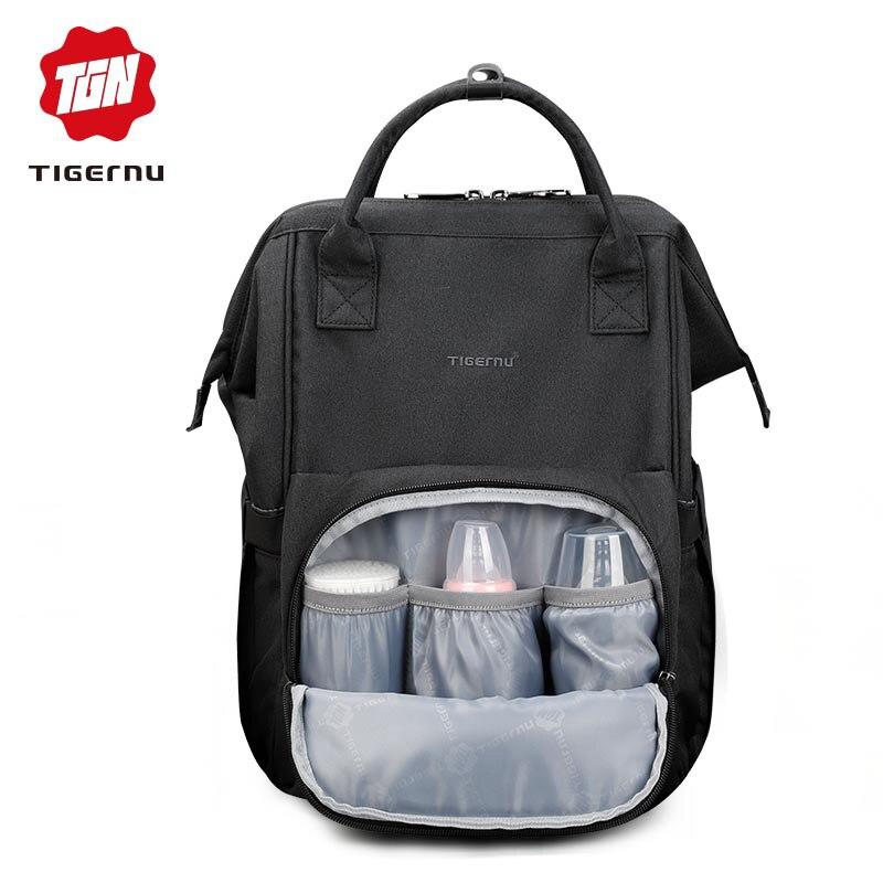 Tigernu Пеленки сумки зарядка через usb ребенка мумии мешок для Для женщин подгузник сумка девушки рюкзаки Mochila