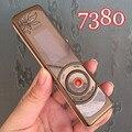 Reformado 100% original nokia 7380 mobile del teléfono celular 2g gsm desbloqueado