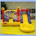 NOVO Pokemon Bouncy Castelo Inflável, interior Slide Piscina Inflável para As Crianças