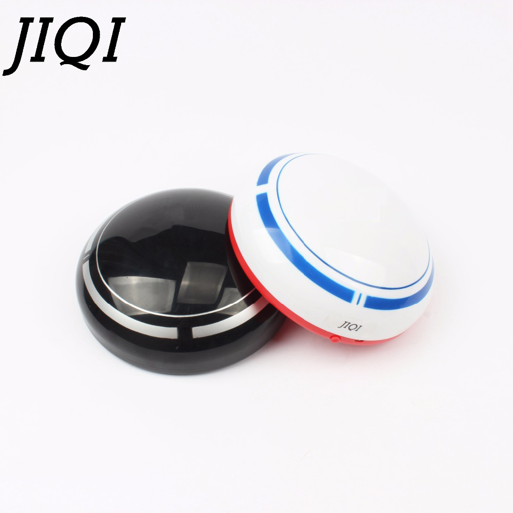 купить JIQI MINI rechargebale Sweep Robot USB Vacuum Cleaner Automatic Floor Cleaning machine PC Dust Collector Sweeper home office car недорого