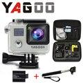 Camera esporte de acao original YAGOO6 remoto ultra WiFi 1080 P 30fps FHD 2.0 LCD 170 ir pro camera A Prova D Agua Esporte
