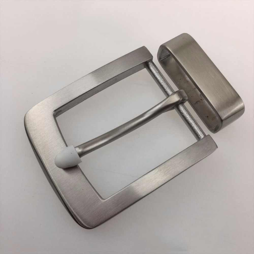Belt loop Belts Clip DIY 40mm Men/'s solid Stainless Steel Pin Belt Buckle