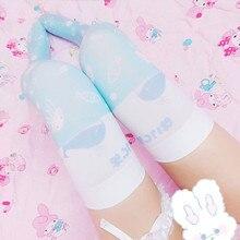 Womens Lolita Over-knee Stockings Printing Thigh High Long Cosplay Good Quality Anime Kawaii Cute Sweet 5SW18