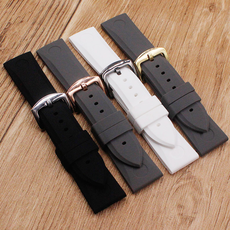 Watch Accessories Suitable for Armani strap AR5987 AR5985 AR5979 silicone rubber waterproof strap Mens watch strapWatch Accessories Suitable for Armani strap AR5987 AR5985 AR5979 silicone rubber waterproof strap Mens watch strap