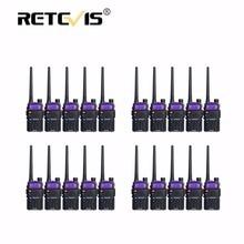 20 pcs Dual Band Walkie Talkie 5W Retevis RT5R 128CH VHF UHF Two Way Radio Comunicador Portable Ham Radio Hf Transceiver RT-5R