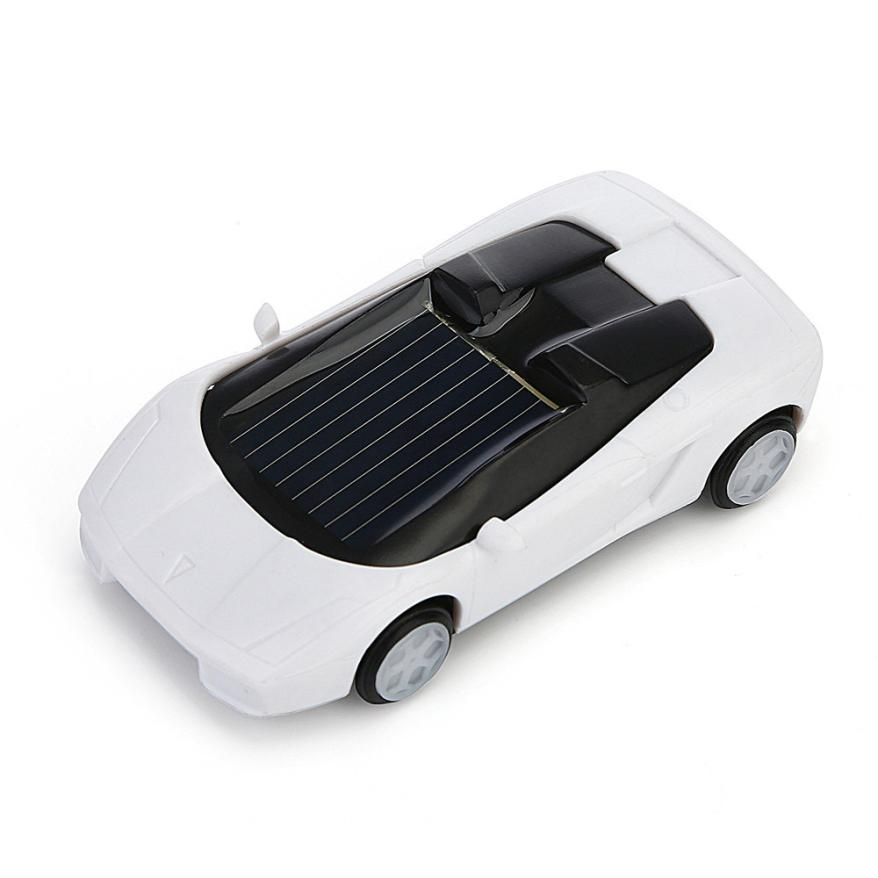 100% brand new and high quality Solar Powered Mini Car Racer Toy For Kids Solar Energy Educational Gadget Gift 2sw0628 solar powered magic autonomous mini car toy