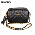 Women Bags Black Chain Female Messenger Bags Fashion Women Small Crossbody Shoulder Bags Clutch Purse and Handbag PT511