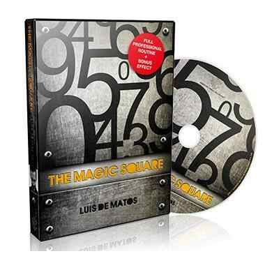 Luis de Matos - The Magic Square Magic tricks