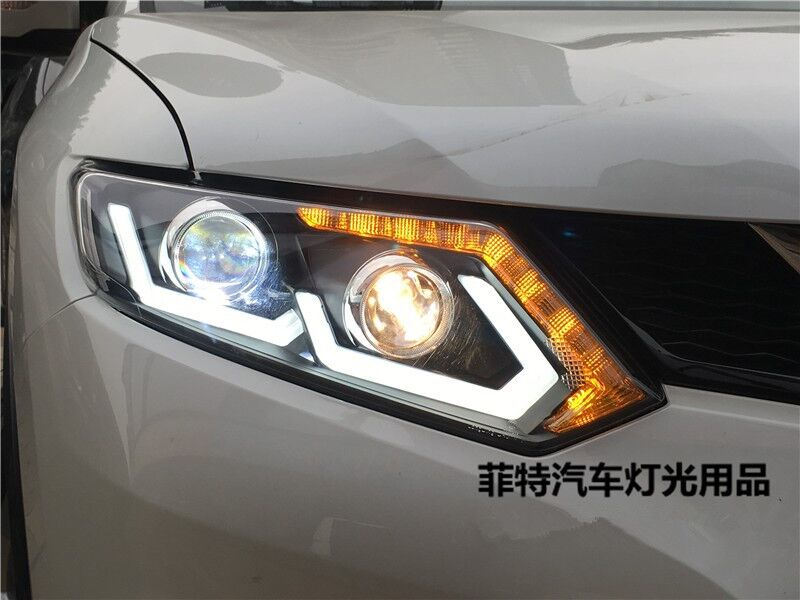 Newest Led Headlights For Nissan X Trail Rogue 2014 2016