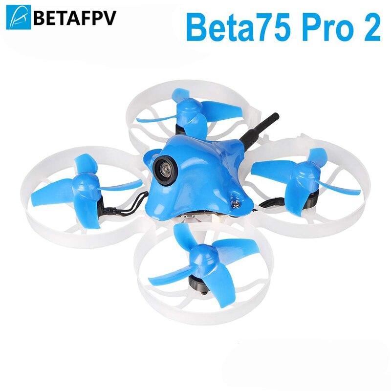 Beta75 Pro 2 2 S Brushless Cri Drone avec 2 S F4 AIO FC 5A ESC 25 mW Z02 Caméra 35 degrés OSD Smart Audio 12000KV 0802 Moteur