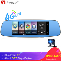 Junsun A800 Car GPS Mirror DVR Camera 7 Android 4G Bluetooth Full HD 1080P Video Recorder