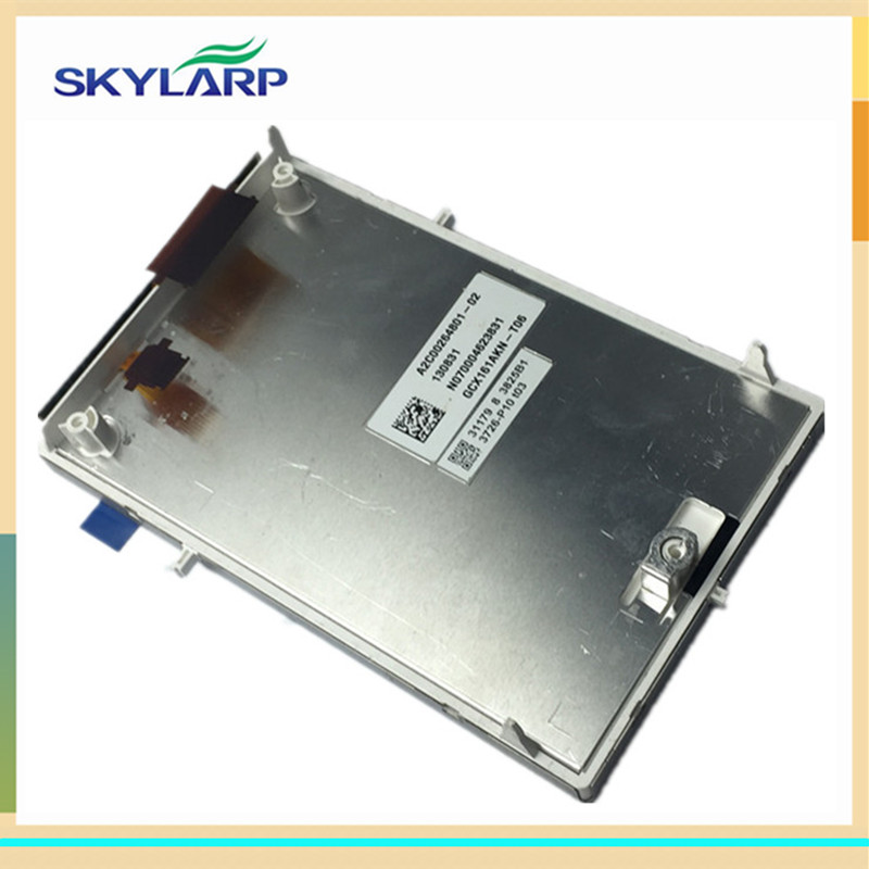 skylarpu Car GPS LCD screen display panel for GCX161AKN GCX161AKN-T06 A2C00264801-02 130831 NO70004623831 (without touch) lq065t9br51u lq065t9br52u lq065t9br53u lq065t9br54u lq065t9br55u lcd screen display for car gps car lcd