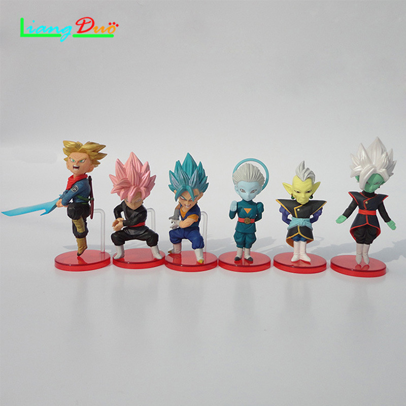 Dragon Ball Super Japanese anime playmobil DBZ de goku Action Figure PVC Model plastic hot toys collectibles festival geschenken