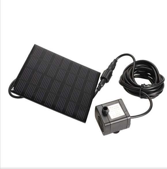 Solar Fountain Decorative 7V Brushless DC Fountain Pump for Pond Garden