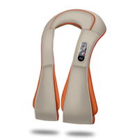 Home Massager Neck Back Body Shiatsu Cervical Back And Neck Massager Shawl Electric Roller Heat Device