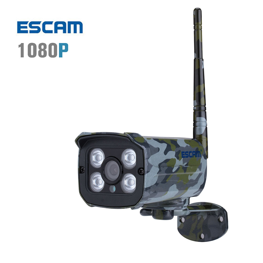 ФОТО ESCAM Sentry QD900S Ip wifi wireless Camera 2MP full HD Network IR-Bullet waterproof 1080p outdoor Security Cameras IP66 onvif