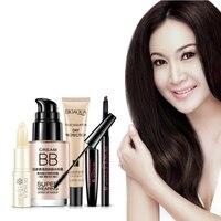 Bellezza Professionale di Trucco Set BB Cream Concealer Isolamento Nudo Mascara Matita Per Gli Occhi Crema Balsamo per le labbra Cosmetici Coreani Imposta.