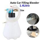 1.4Litre Car Brake Filling Bleeder Bleeding Bottle Pumping Emptying Automotive Hand Tool Vacuum Type Oiler Tube Fill Bottle Set