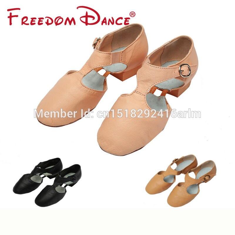 Zapatos de baile de jazz de cuero genuino Nuevas zapatillas de - Zapatillas - foto 6