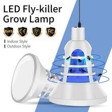 E27 Grow Light LED Elektrik Mosquito Killer Lamp USB 220V Led Full Spectrum Bug Zapper 110V Plant 8W Indoor Tent 5V