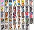 2017 Nuevos niños de Dibujos Animados fresco protector solar tatoo arte de ciclismo manga Del brazo del Niño escorpión tatuaje temporal mangas falsas del tatuaje H28--H39