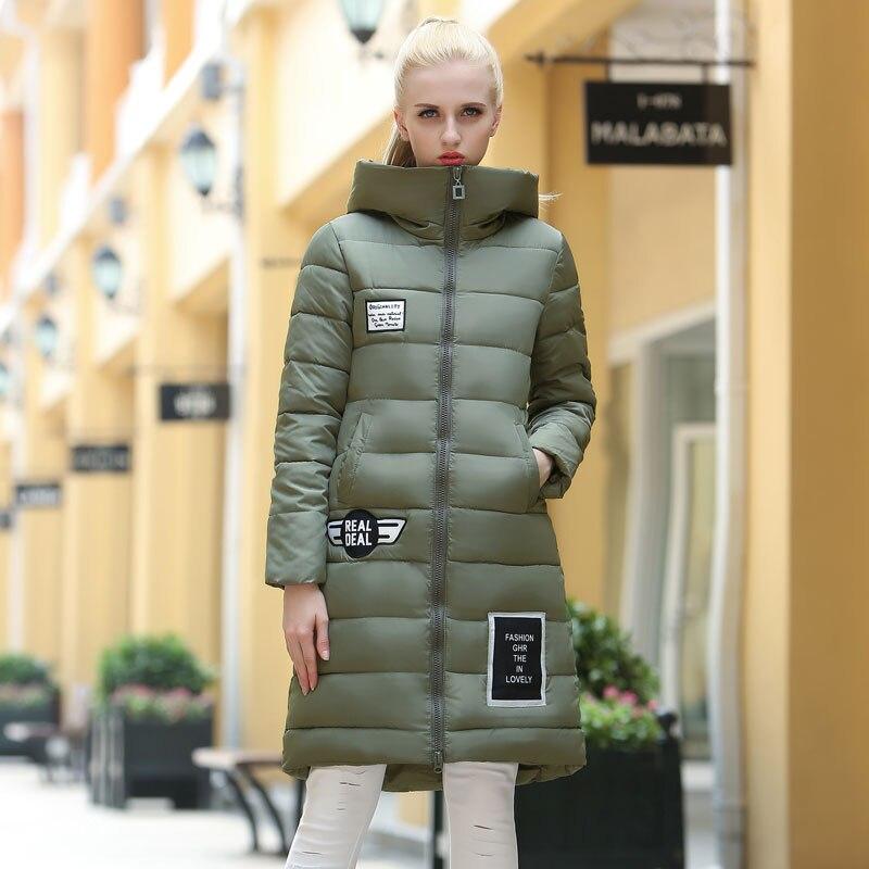 Parkas Women Fur Collar Elegant Slim Thickening Hooded Coat Warm All-match Simple Trendy Womens Cute Korean Style Parka Outwear Women's Clothing