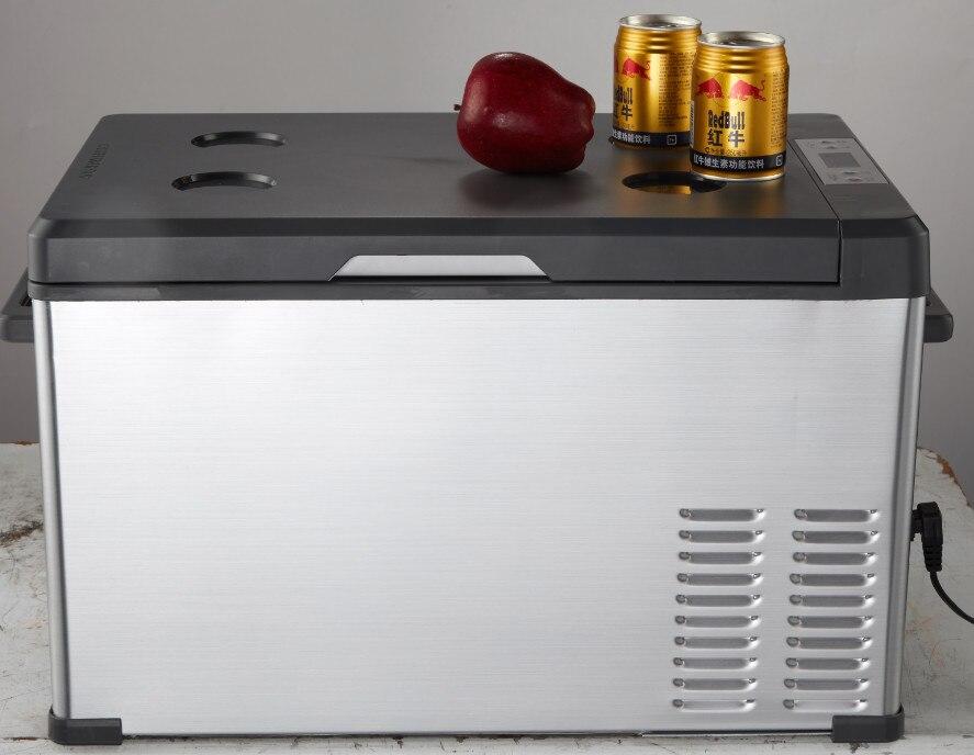 Auto Kühlschrank 12v : 70l new compressor freezer car refrigerator ac 12v dc24v fridge