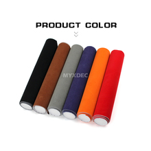 8 Colors Velvet Fabric Film, Car Sticker With Bubble, Car Body Decoration Sticker