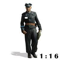 1/16 Resin Personage Model Armored Lieutenant Herman Second World War 118