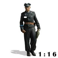 1/16 Resin Personage Model Armored Lieutenant Herman Second World War 118
