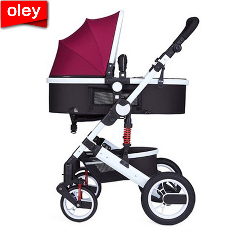 oley baby stroller linen cloth multifunctional stroller of European high landscape design Convenient anti-mosquito design Staoley baby stroller linen cloth multifunctional stroller of European high landscape design Convenient anti-mosquito design Sta