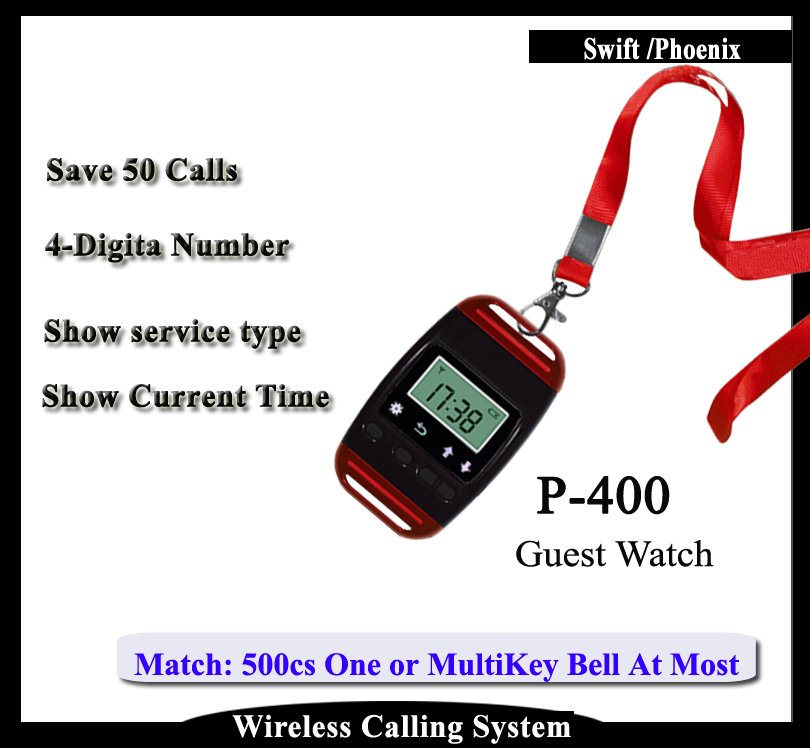 Wireless Queue Calling Waiter System Can work With Button To Call Waiter 5 watches with 50 table button wireless calling system pager system waiter caller system free dhl shipping