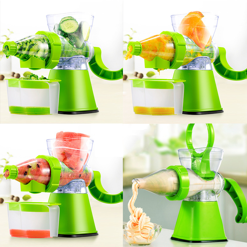 Juicer Manual Hand Fruit Vegetables Slow Juicers Lemon Extractor Machine Blend Fresh Health Crank Juicer Corn Kitchen Tools цена 2017